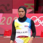 Olimpik 2020: Pecutan Azreen Nabila Alias Tamat di Pusingan 1