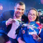 AirAsia Hadiahkan Hidilyn Diaz Penerbangan Percuma Seumur Hidup
