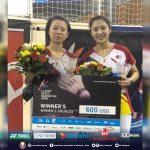 Ranking BWF: Juara Terbuka Czech Mei Xing-Anna Cheong Raih Peningkatan 779 Anak Tangga